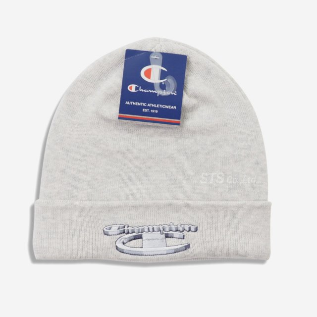 Supreme/Champion 3D Metallic Beanie