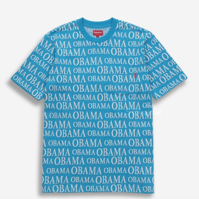 【SALE】Supreme - Obama Jacquard S/S Top