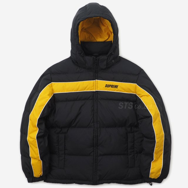 Supreme - Stripe Panel Down Jacket