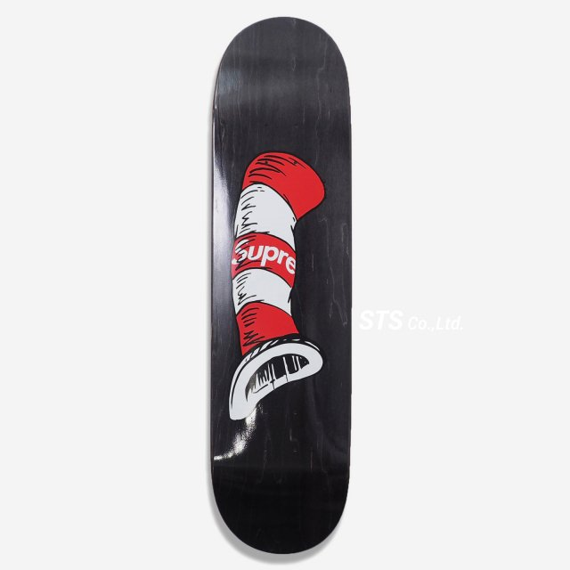 【SALE】Supreme - Cat in the Hat Skateboard