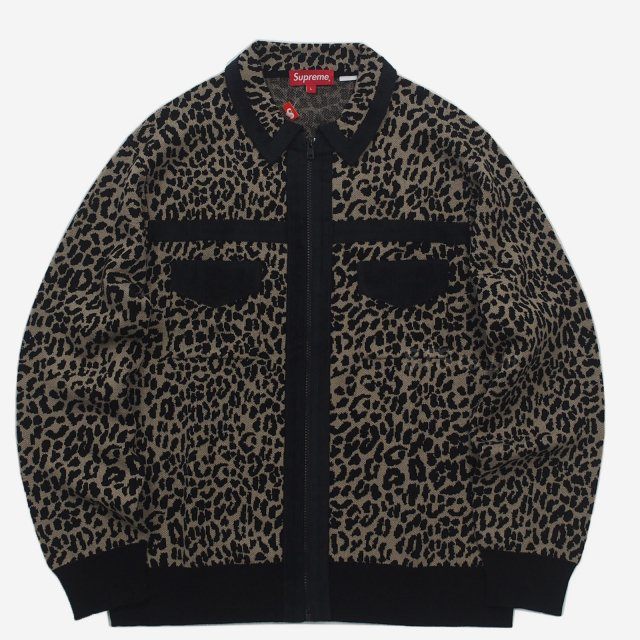 Supreme - Corduroy Detailed Zip Sweater