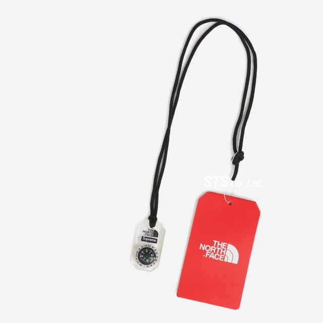 Supreme/The North Face Compass Necklace