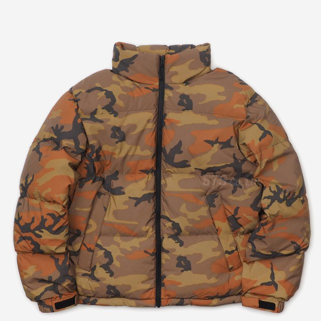 Supreme - Reflective Camo Down Jacket