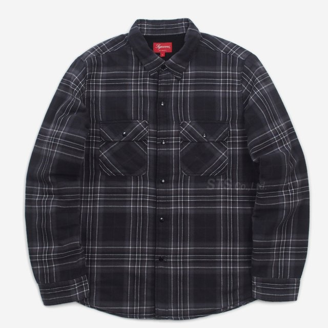 Supreme - Pile Lined Plaid Flannel Shirt