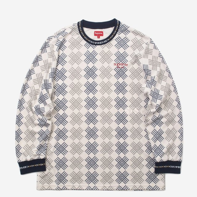 【SALE】Supreme - Motif L/S Top