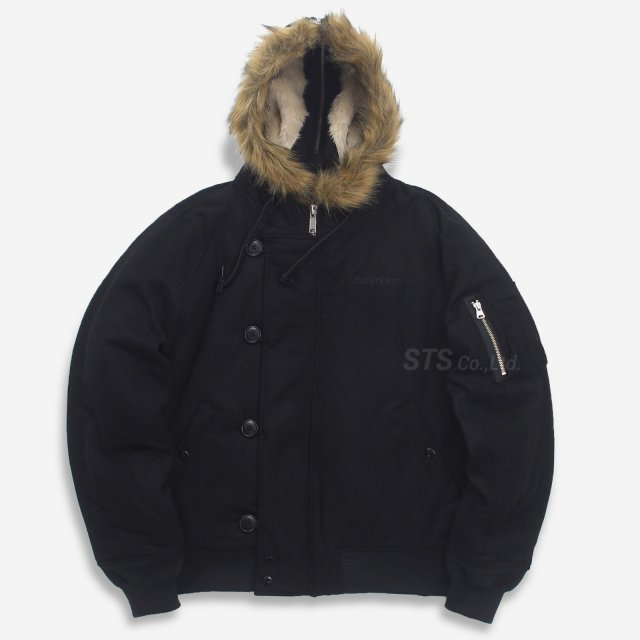 【SALE】Supreme - Wool N-2B Jacket