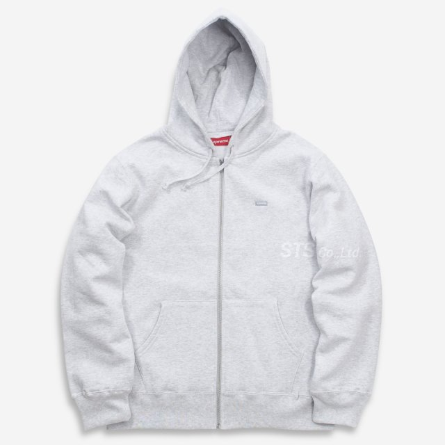 Supreme - Reflective Small Box Zip Up Sweatshirt