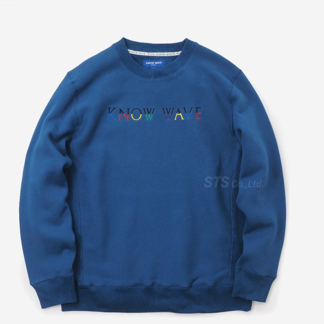 Know Wave - Multi Crewneck