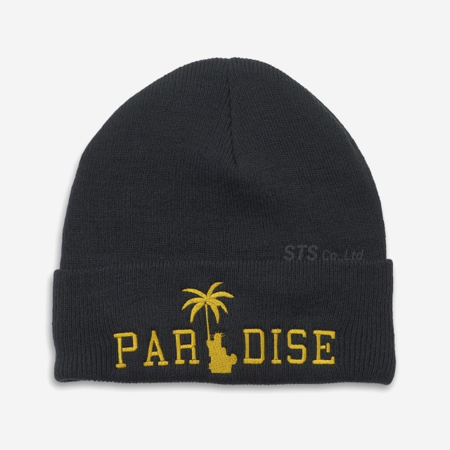Paradis3 - Liberty Palm Gold Skully Beanie