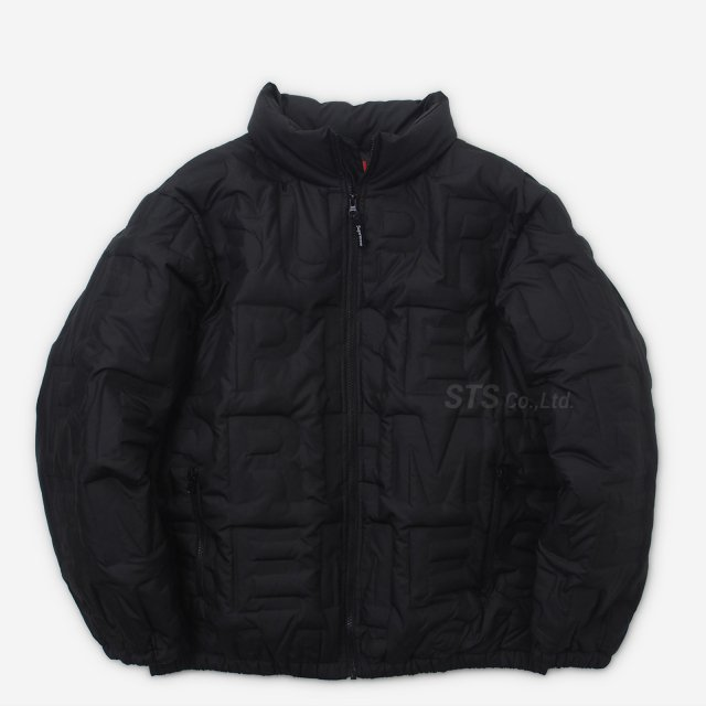 Supreme - Bonded Logo Puffy Jacket