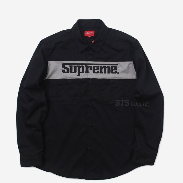 Supreme - Racing Logo Work Shirt