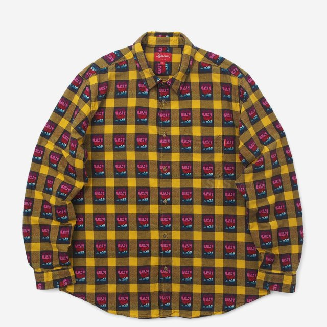 Supreme - Rose Buffalo Plaid Shirt