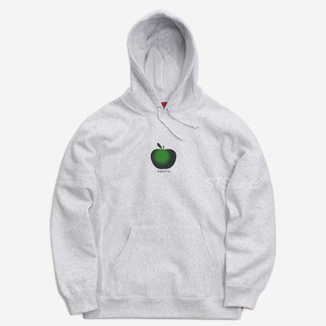 Supreme - Apple Hooded Sweatshirt