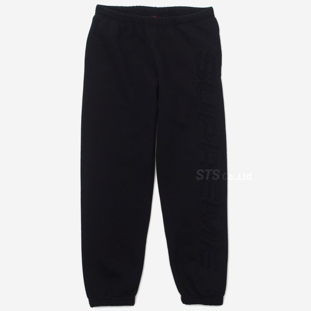Supreme - Set In Logo Sweatpant