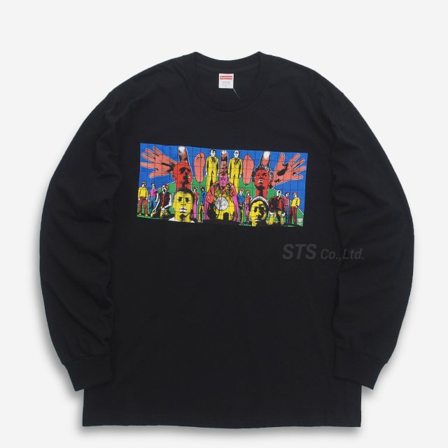 Gilbert & George/Supreme DEATH AFTER LIFE L/S Tee