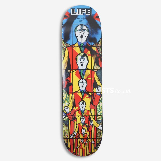 Gilbert & George/Supreme LIFE Skateboard