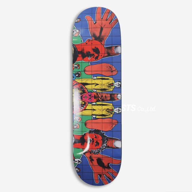 Gilbert & George/Supreme DEATH AFTER LIFE Skateboard