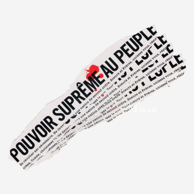 【Dead Stock】Supreme - Headline Sticker