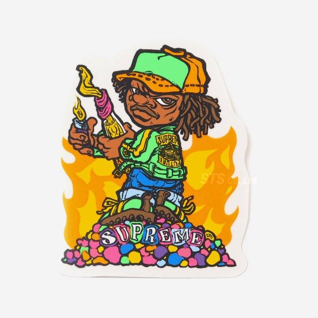 【Dead Stock】Supreme - Molotov Kid Sticker