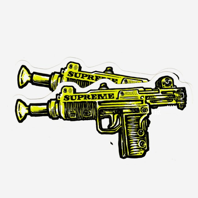 【Dead Stock】Supreme - Toy Uzi Sticker