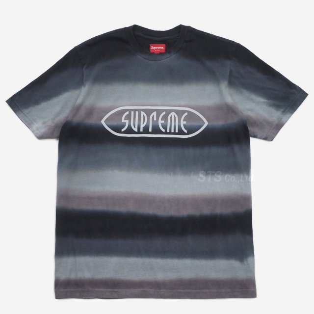 Supreme - Rainbow Stripe Tee
