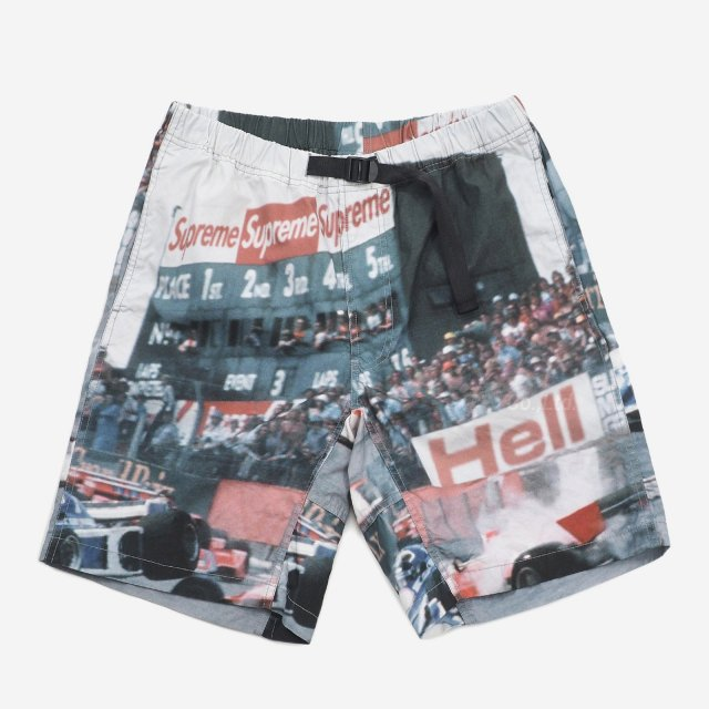 Supreme - Grand Prix Belted Short