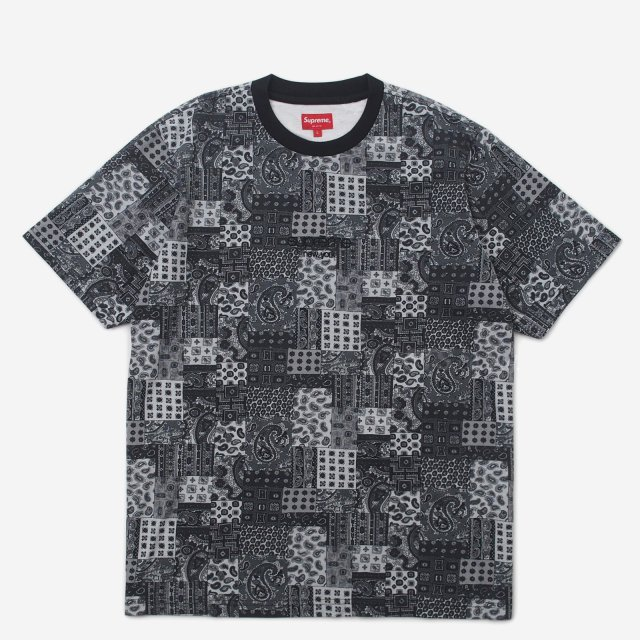 Supreme - Patchwork Paisley S/S Top