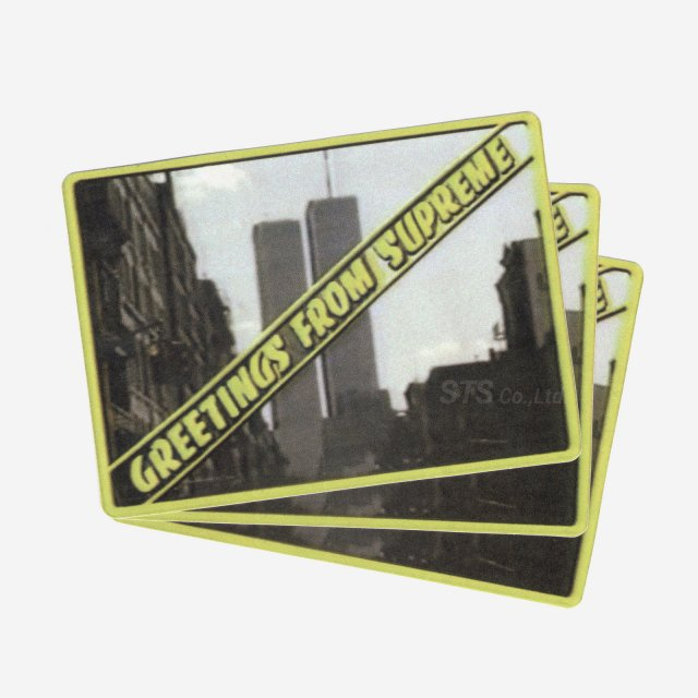【Dead Stock】Supreme -  Greetings Sticker