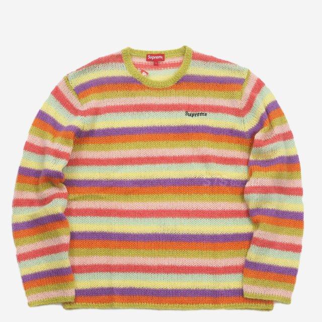 Supreme - Stripe Mohair Sweater