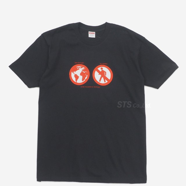 Supreme - Save The Planet Tee