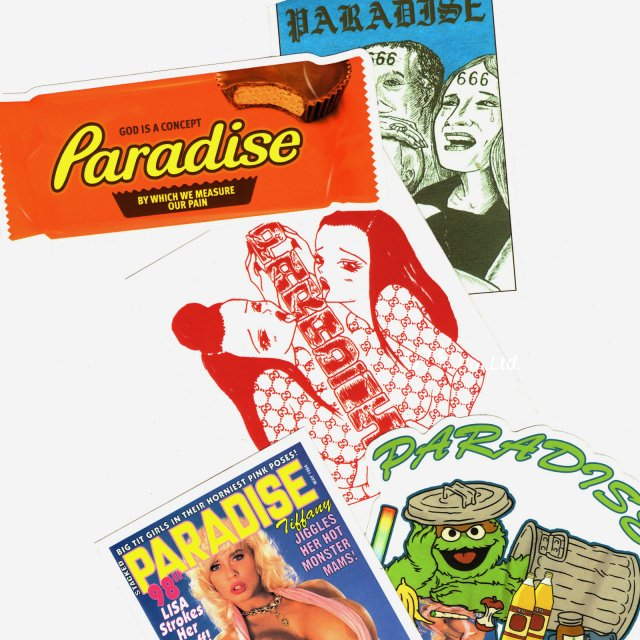 Paradis3 - SS19 Sticker Pack B