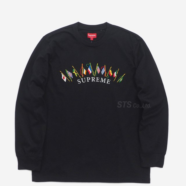Supreme - Flags L/S Top