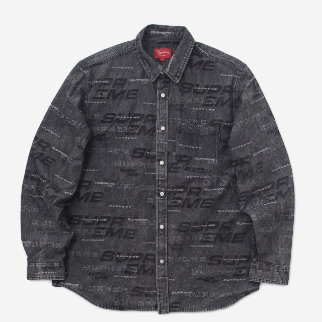 Supreme - Dimensions Logo Denim Shirt