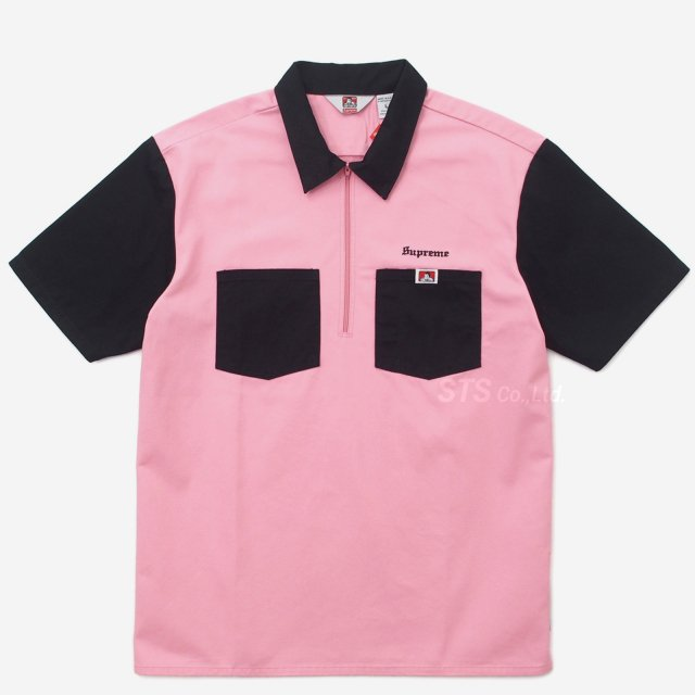Supreme/Ben Davis Half Zip Work Shirt
