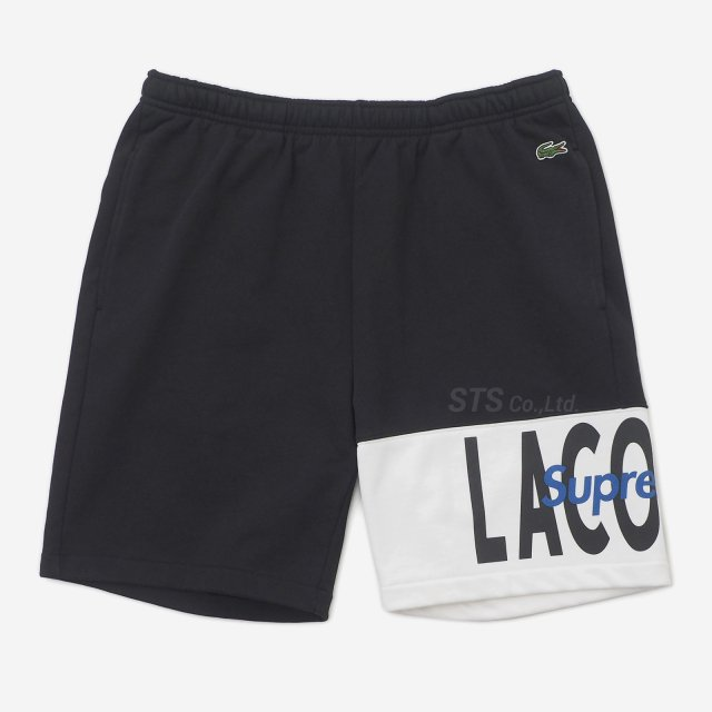 Supreme/LACOSTE Logo Panel Sweatshort