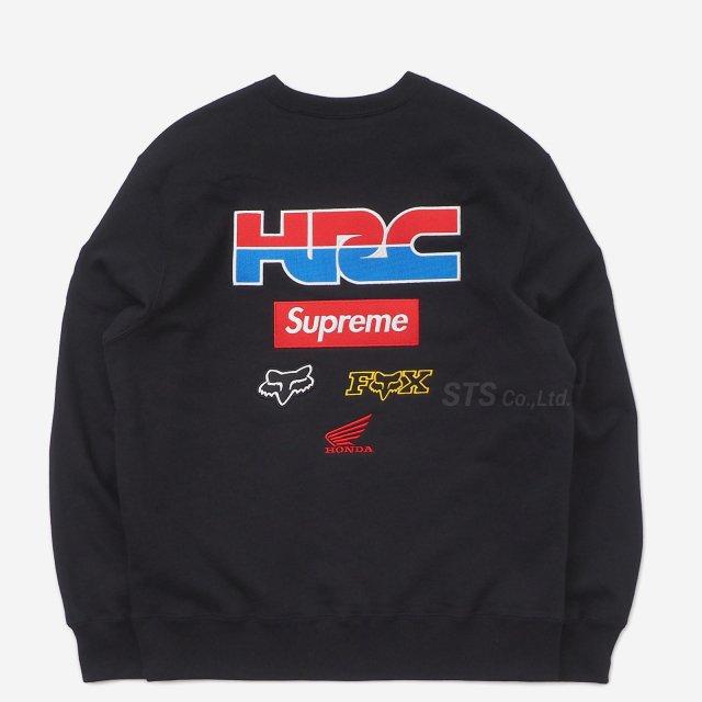 Supreme/Honda/Fox Racing Crewneck