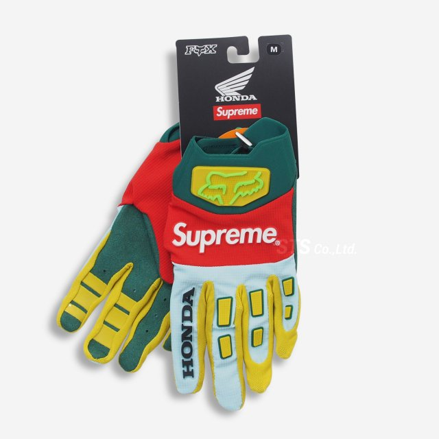 Supreme/Honda Fox Racing Gloves