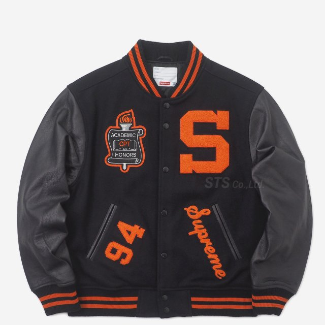 【SALE】Supreme - Team Varsity Jacket