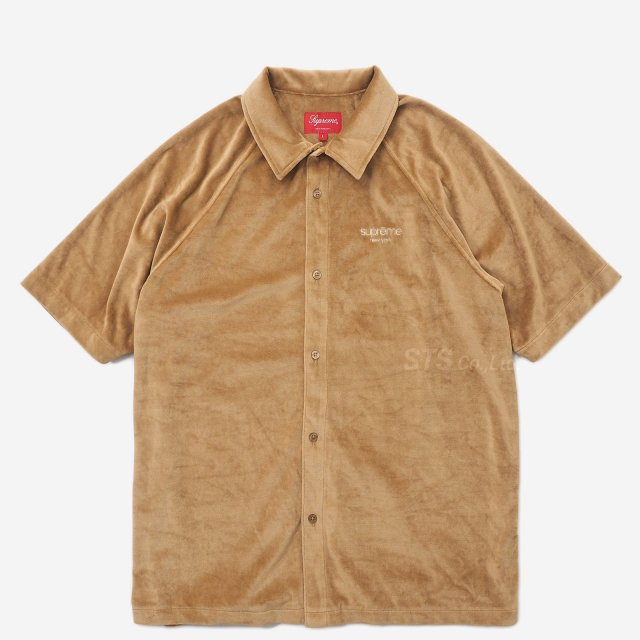 Supreme - Velour S/S Shirt