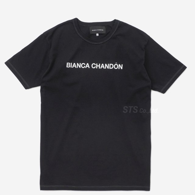 Bianca Chandon - Contrast Stitch Logotype T-Shirt