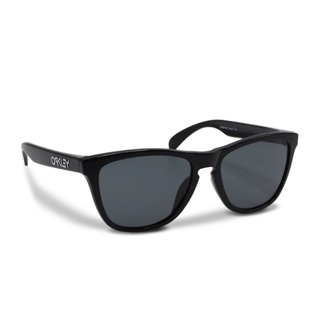 Oakley - Frogskins (A) / Polished Black / Prizm Grey