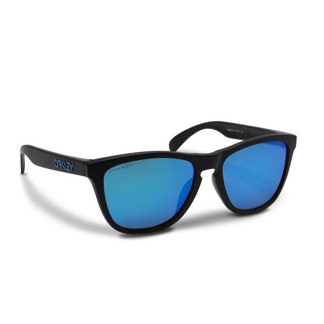 Oakley - Frogskins (A) / Matte Black Prizm Sapphire
