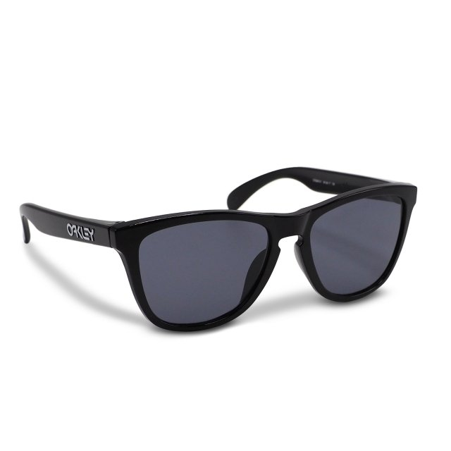 Oakley - Frogskins (A) / Polished Black Grey