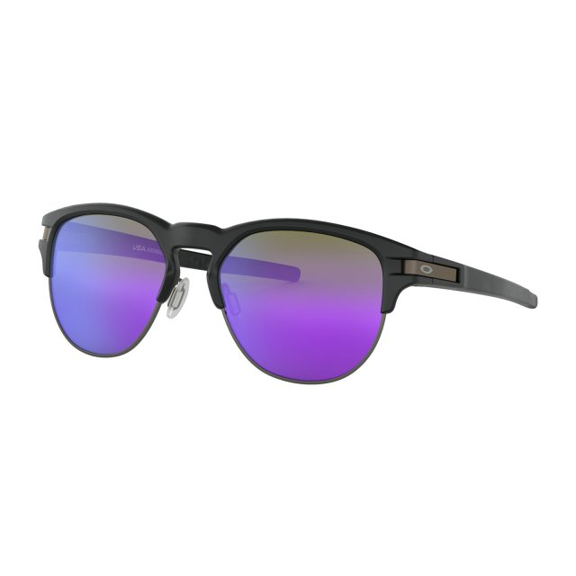 Oakley - Latch Key (55) / Matte Black Violet Iridium