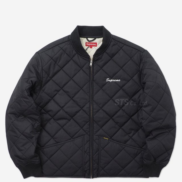 Supreme/dead prez Quilted Work Jacket