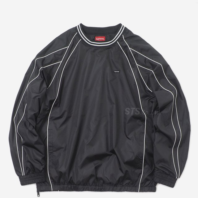 【SALE】Supreme - Piping Warm Up Pullover