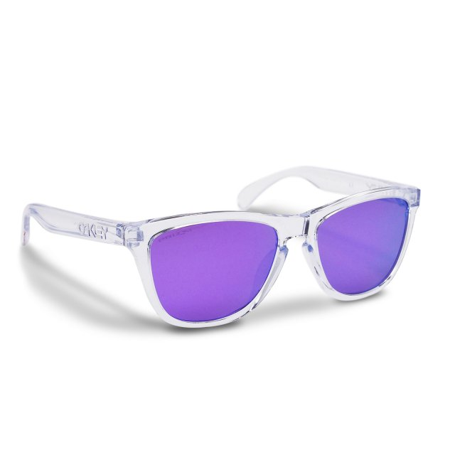 Oakley - Frogskins (A) / Polished Clear Prizm Violet