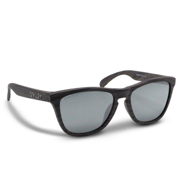 Oakley - Frogskins (A) / Woodgrain Prizm Black