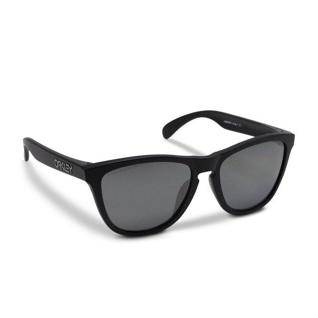 Oakley - Frogskins (A) / Matte Black Prizm Black Polarized
