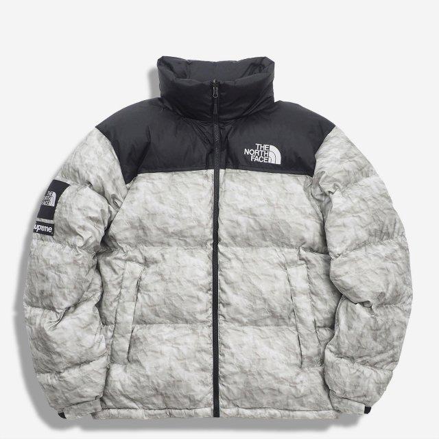 Supreme/The North Face Paper Print Nuptse Jacket